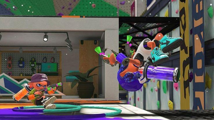 New SPLATOON 2 Stage Looks Like A Trippy YMCA — GameTyrant