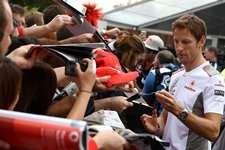 McLaren's Jenson Button Q&A in Melbourne at the beginning of the 2012 season.: Melbourne Australia, Website, Buttons, Button Q A