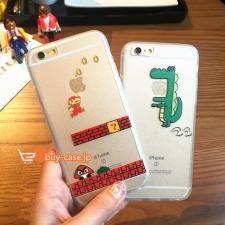 限りの爆安!男性芸能人スーパーマリオブラザーズ キャラクターアイフォンiphone6sケース7PLUSシリコンソフト携帯カバー5s