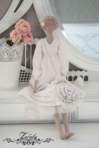 Куклы Тильды ручной работы. Ярмарка Мастеров - ручная работа Кукла Тильда Эмма. Handmade.