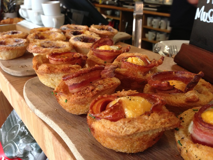 Baked #bacon & #egg pastry type thing in #Boston #Tea #Party #Bristol