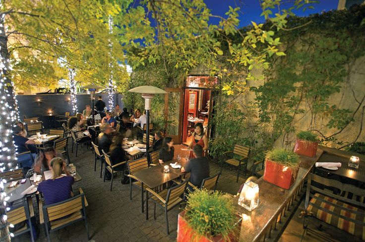 Whether you're planning a first date or a special anniversary, these romantic patios are winners.