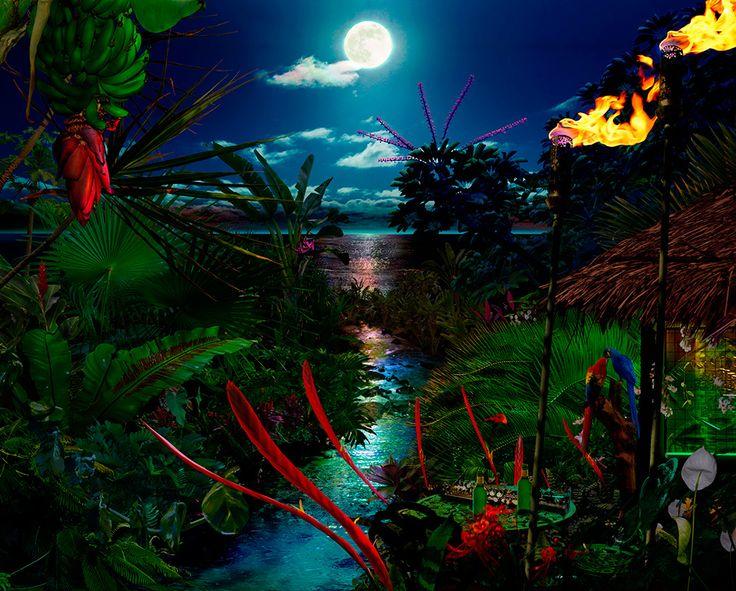 BLESSED ARE PURE IN OUR HEARTLAND / Satoshi Matsuyama  #Satoshi Matsuyama #Hawaii #art #Landscape