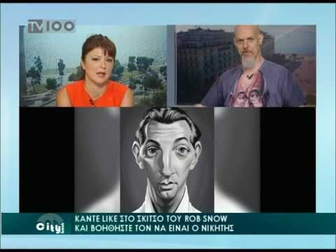 Rob Snow on TV100 about Playing Arts Contest