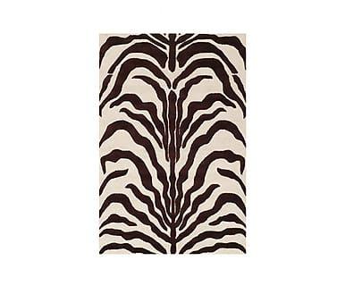Ковер - 100% шерстяное волокно - коричневый, 182х274 см