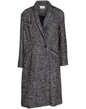 Dan oversize herringbone wool coat