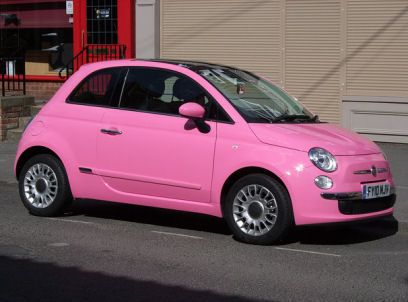 "5ooblog | FIAT 5oo: New Fiat 500 ""pink is pink"""