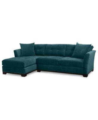 elliot 2 piece chaise sectional sofa custom colors created for rh pinterest com