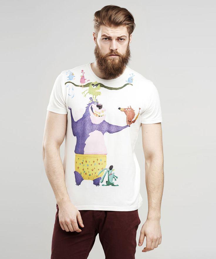 Bear t-shirt by Selva