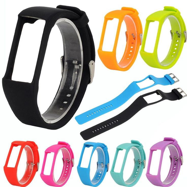 Sport Silicone Replacement Watch Band Wrist Strap Bracelet For Polar A360 A370 #Unbranded