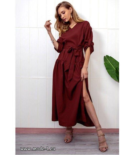 Lange Boho Maxi Kleid 2019 in Rot #mode #fashion #damen #frauen #damenmode – –