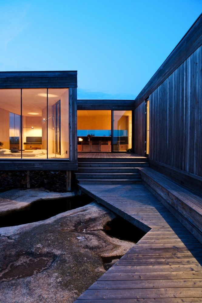 Casa de Verão Hvaler, Papper, Hvaler Islands, Norway, by Reiulf Ramstad Architects.