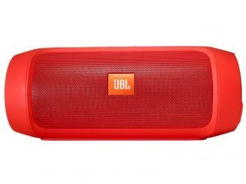 Caixa de Som Portátil Bluetooth JBL Charge II Plus - Vermelho À Prova de Respingos d?água