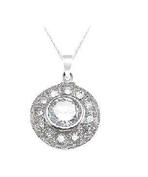 Sterling Silver Vintage Style Pendant Necklace for Women on 18 Inch Chain LaRaso & Co. $34.99. Gift Boxed. Delicate and Intricate Vintage Style Pendant. 18 Inch Sterling Silver Box Chain Included. .925 Sterling Silver. Save 30%!