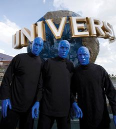 Blue Man Group at Universal Orlando Resort! Access from City Walk, ETourandTravel sells tickets at our reception centers too!    NOW MORE WOW! Experience the wonder of Blue Man Group with incredible new performances, astounding new music, and an all-new stage. It's science, it's laughter, it's that creative urge you feel inside and want to explore.