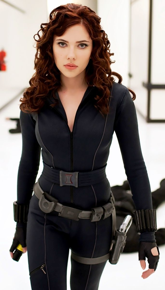 "Natasha Romanoff a.k.a. Black Widow played by Scarlett Johansson. Introduced in the 2010 film ""Iron Man 2."""