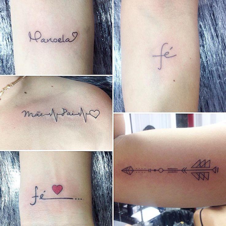 Pequenas tatuagens grandes significados  #bomdia #tattoo #tattoo2me #tattoogirl #tatuagem #tatuagemfeminina #tattoos #tattooworkers #tattooed #escrita #arte #mywork #tattooart #art #goodmorning #tatuagenspequenas #inspiration #ink #fe #pai #mae #love #instatattoo #flecha #heart #inkedgirls #tatuagensdelicadas #fine #line #fineliner