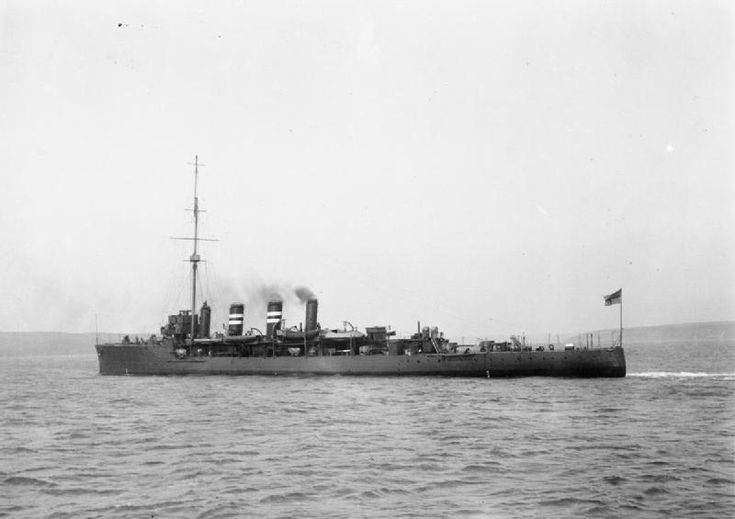 HMS Amphion lost 6th August 1914. Read more on Ulster men lost: http://historyhubulster.co.uk/hms-amphion/