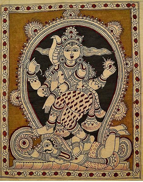 Indian Painting Styles...Kalamkari Paintings (Andhra Pradesh)-nataraja-1.jpg