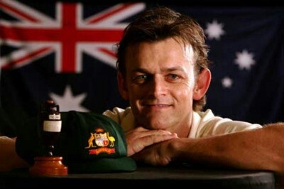 Adam Gilchrist, my favourite Aussie cricketer. A sad day when he retired...