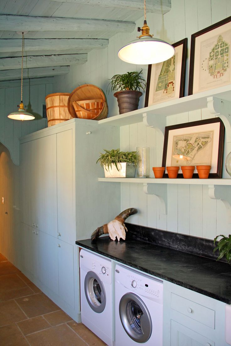 Southern Living Idea Home Laundry Room Put In 3rd Bedroom W Mirror Above