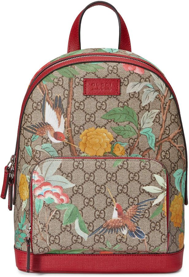 4e2714865f4 Gucci Tian GG Supreme backpack   Designer Bags   Pinterest ...