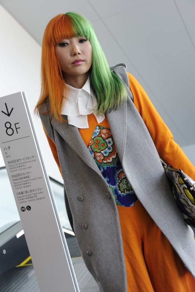 They Are Wearing: Tokyo Fashion Week #ss2013