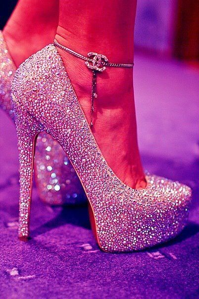 Louboutins and Chanel!! I would die if I had those!