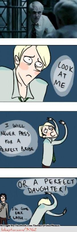 Harry Potter (Draco) and Mulan crossover