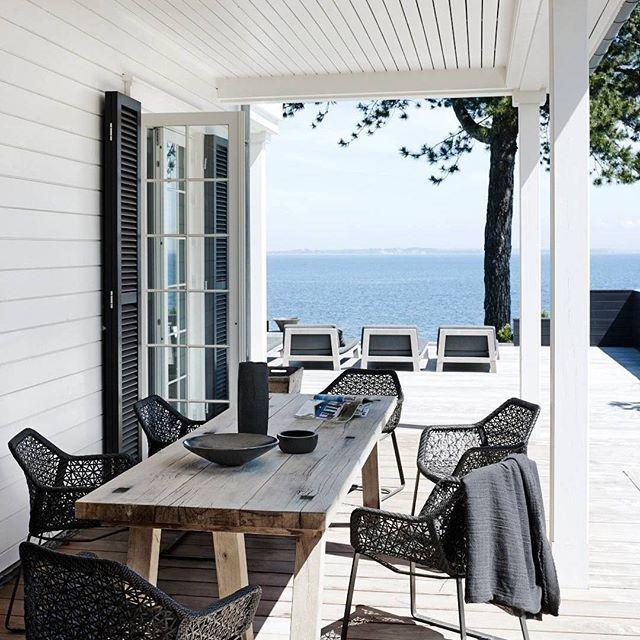 Danish summer dreaming. #humpdayescape {#interiordesign by Anita Heske & Ole Damm,  by Wichmann + Bendtsen via @elledecor} #wanderlust