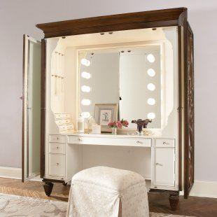 vanity inside hutchneat idea - Ensemble Vanite Armoire