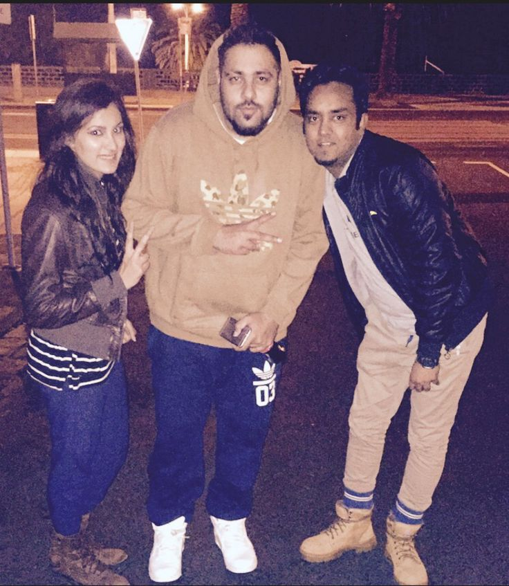 With the King Rapper BADSHAH & AASTHA GILL