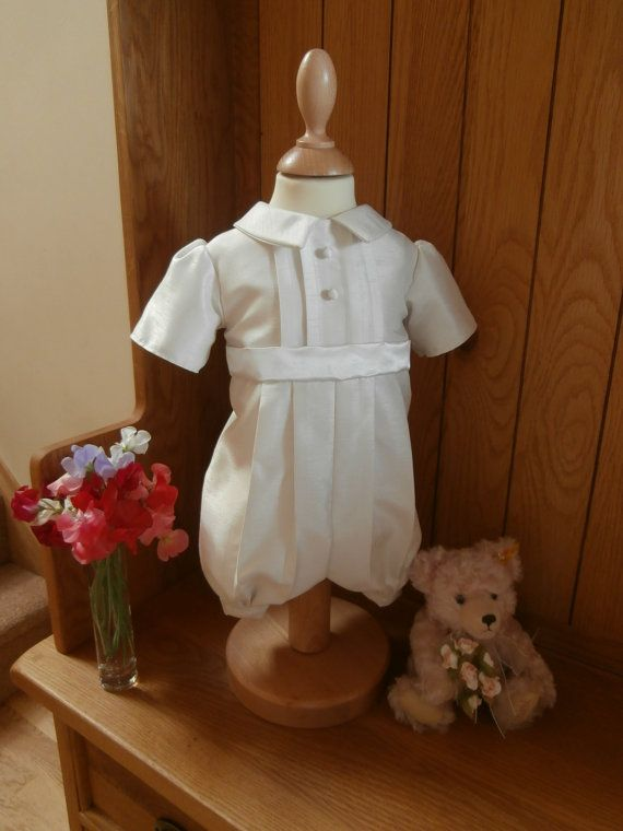 Hey, I found this really awesome Etsy listing at http://www.etsy.com/listing/158207290/boys-christening-baptism-wedding-romper