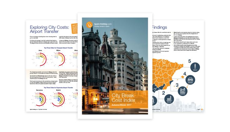 Spain-Holiday.com City Break Cost Index Autumn Winter 2017 | EuropaWire.eu
