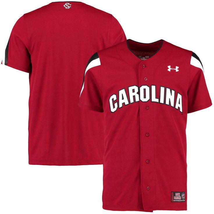 South Carolina Gamecocks Under Armour Replica Baseball Performance Jersey - Garnet - $79.99