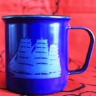 Finel made in Finland blue mug 1970s..