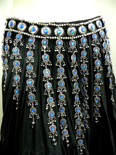 Kuchi Tribal Belt Belly Dance Hip Skirt Ethnic Gypsy Handmade ATS Boho Afghan NW | eBay
