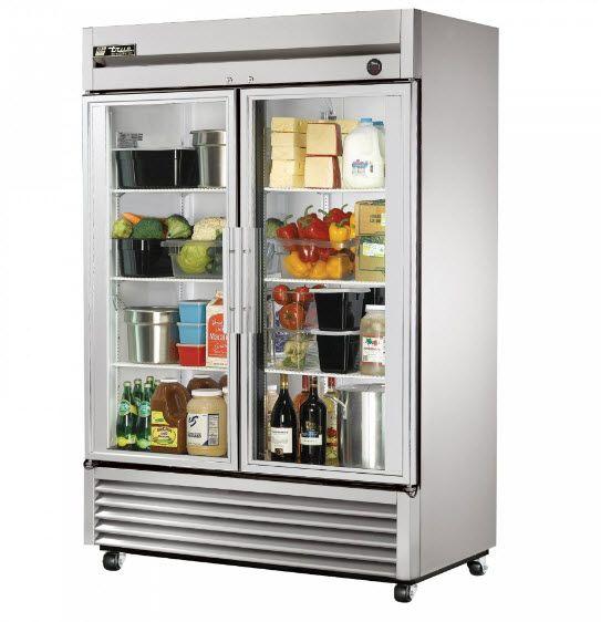 Gl Door Reach In Refrigerator True
