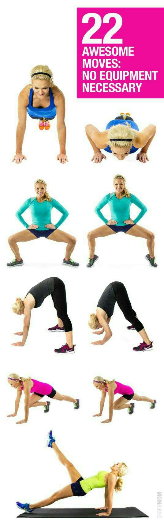 great at home workouts