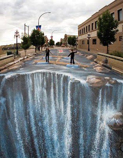 3D Sidewalk Chalk Art: 40 unbelievable photos