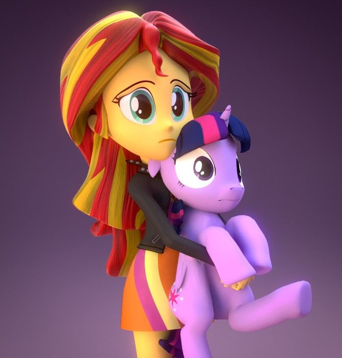 My little pony equestria girl sunset shimmer sad