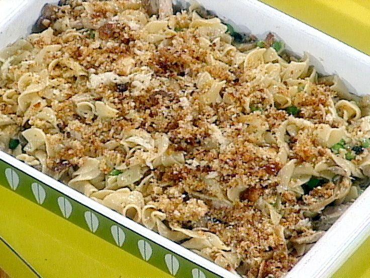 Retro-Metro Fancy Tuna Casserole recipe from Rachael Ray via Food Network
