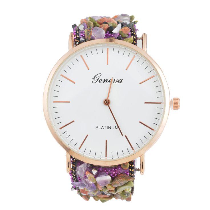 Goedkope Horloges Vrouw 2016 Quartz Natuurlijke Quartz Stone Horloges Dames Quartz Montre Femme Dames Armband Horloge, koop Kwaliteit vrouwen horloges rechtstreeks van Leveranciers van China: