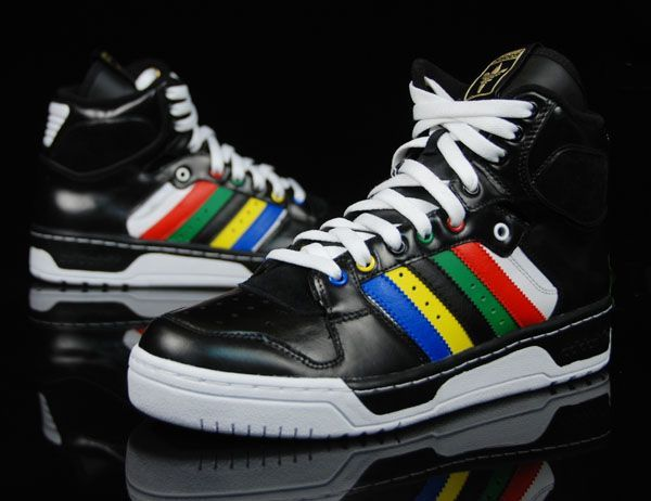 Adidas Conductor Olympic High Black DZ This shoe was originally a signature  shoe for the young Patrick Ewin around The official.
