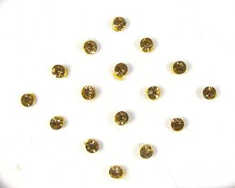 Single stone pack - Gold (2mm)