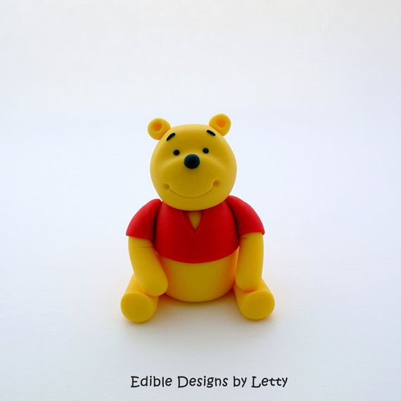 Edible Fondant Cake Topper  Winnie the by EdibleDesignsByLetty, $28.00
