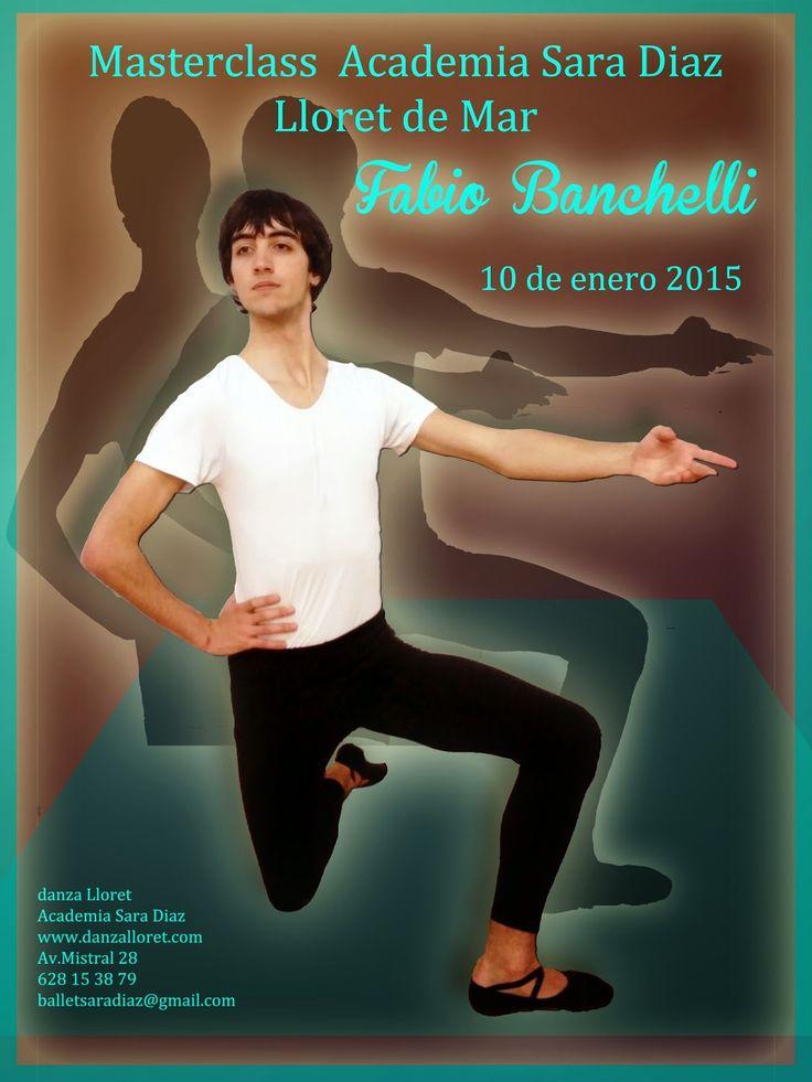 Escuela Ballet Lloret de Mar: Masterclass de ballet clássico el 10 de enero