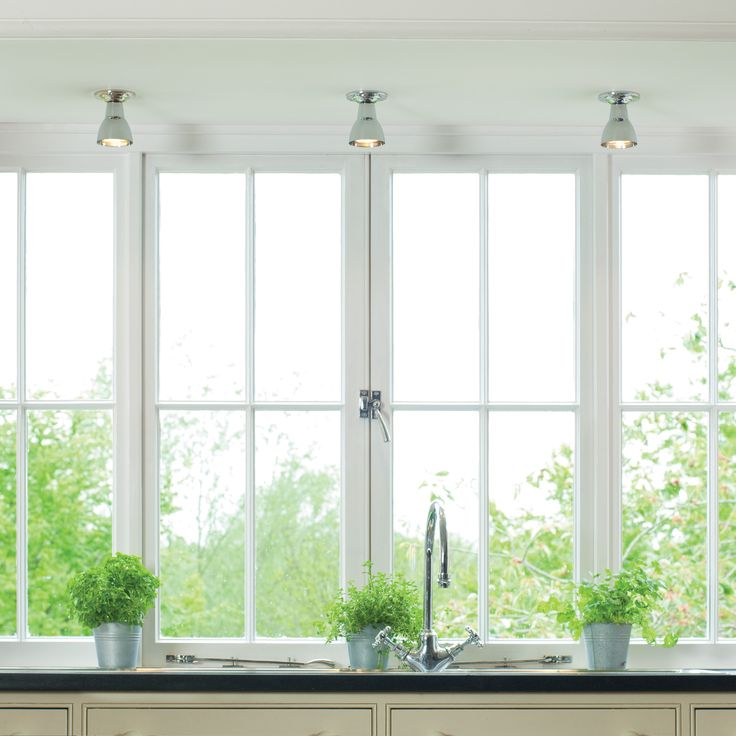 This bell shaped Cranfield #Spot #Light looks beautiful when grouped together over a #sink or #worktop