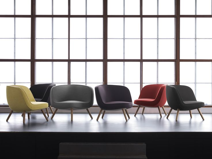 Danish Architect Bjarke Ingels, In Collaboration With Danish Design Group  KiBiSi, Designed The Lounge Chair For Fritz Hansen For A NYC Building.