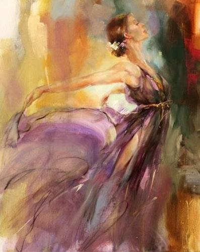 Anna Razumovskaya  est une artiste russe que j'ai découverte le week-end...